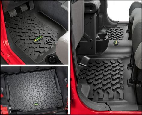 Quadratec Jk Floor Mats by Quadratec 174 Ultimate All Weather Floor Liner Combo