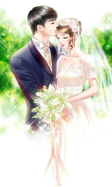 wedding anime images  pinterest card wedding