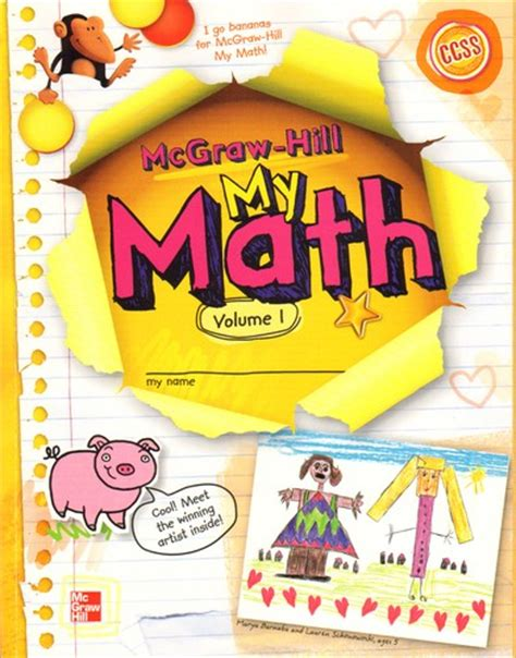 Mcgrawhill My Math  Open Library