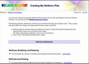 the wellness wheel With personal wellness plan template