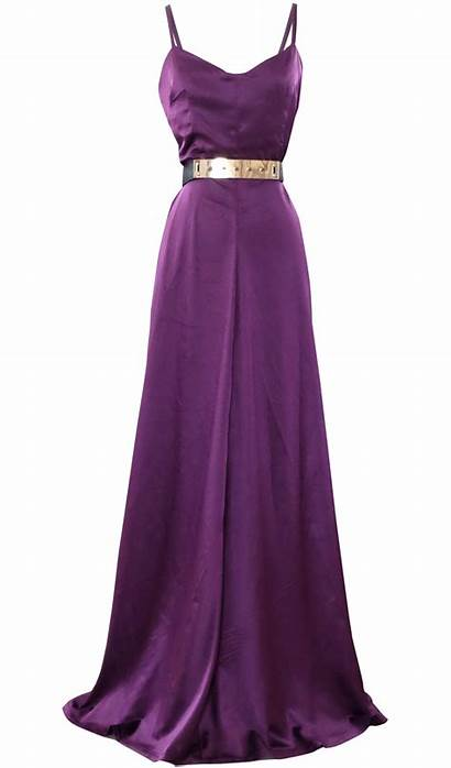 Maxi Satin Evening Transparent Purple British Formal