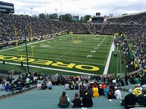 Autzen Stadium Seating Chart Autzen Stadium Section 40 Oregon Football