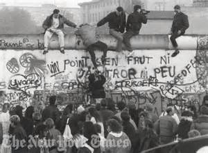 Berlin Wall Fall 1989