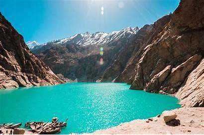 Pakistan Lake Attabad Northern Valley Skardu Water