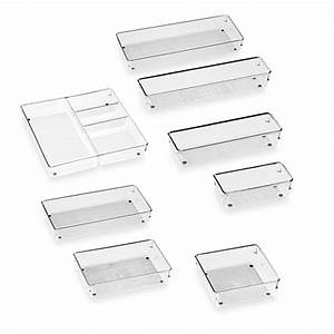 InterDesign® Linus Acrylic Drawer Organizers - Bed Bath