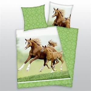 Pferde Bettwäsche Baumwolle : herding bettw sche pferd mit fohlen 135 x 200 cm real ~ Markanthonyermac.com Haus und Dekorationen