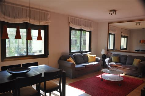 3 Bedrooms For Rent by Furnished 3 Bedroom Apartment For Rent In Paseo De Gracia