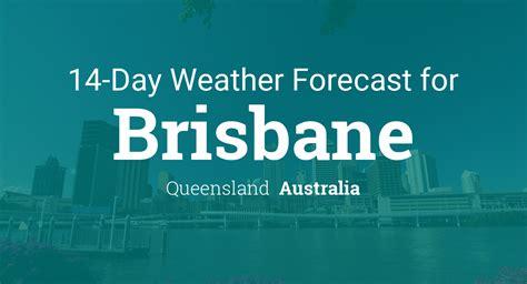 brisbane queensland australia day weather forecast