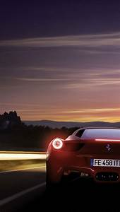 Red cool sports car 2 iPhone 5 wallpapers | Top iPhone 5 ...