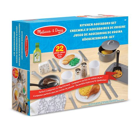 and doug kitchen accessory set doug kitchen accessory play set 19304 pirum 9740
