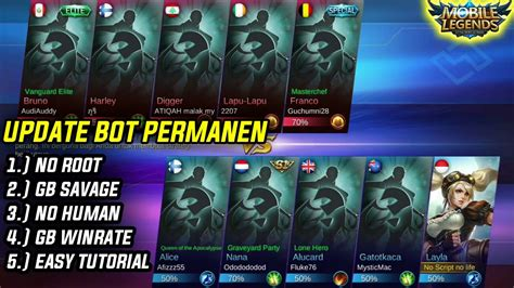 Update Apk Bot Mobile Legend Terbaru