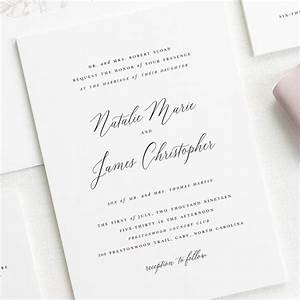 Free wedding invitation samples shine wedding invitations for Wedding invitation etiquette age limit