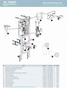 Mecanisme Chasse D Eau Wc Suspendu Siamp : siamp 32 4548 07 m canisme pour bati chasse mural 535 ~ Dailycaller-alerts.com Idées de Décoration