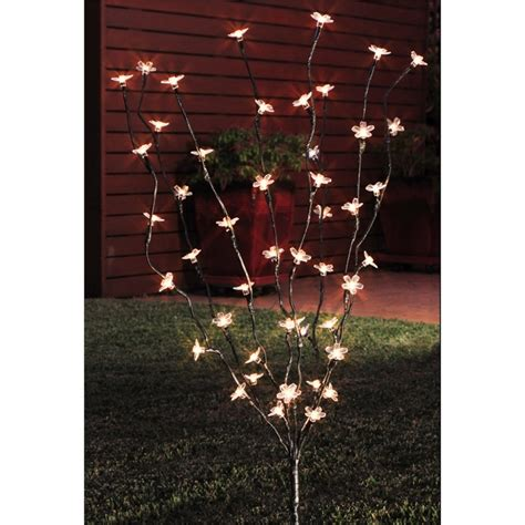 lytworx 48 led warm white 2 function blossom tree solar