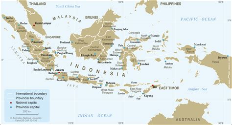 indonesia provinces  capitals  cartogis