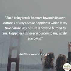 Adi Shankaracha... Dualism Philosophy Quotes