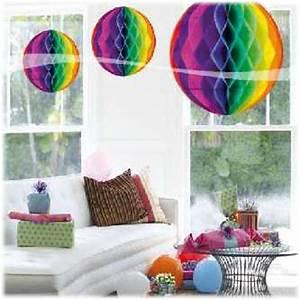 Party Deko 24 : honigwaben ball multifarben 32cm im shop ~ Orissabook.com Haus und Dekorationen