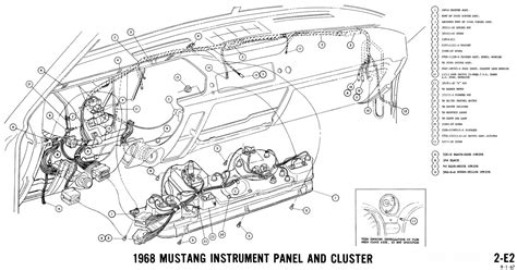 1967 Ford Mustang Wire Harnes Diagram by Wrg 3497 68 Mustang Dash Wiring Diagram