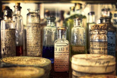pharmacy bottle museum vintage hd wallpaper