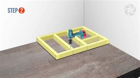 Installing a Raised Wetroom Base on a Concrete Floor