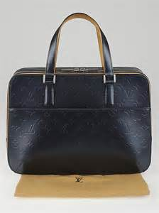 louis vuitton blue monogram mat malden bag yoogis closet