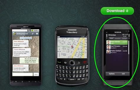 whatsapp free available for nokia symbian and java smartphones neurogadget