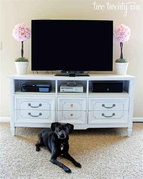 dresser turned into tv stand top 10 clever ways to repurpose an dresser