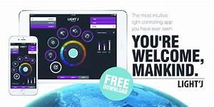 Lichtsteuerung Per App : light j von eurolite lichtsteuerung per app ~ Watch28wear.com Haus und Dekorationen