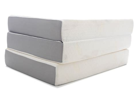tri fold mattress 6 memory foam tri fold mattress with cover