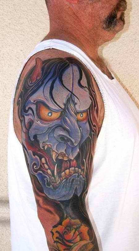 great hannya shige tattoos