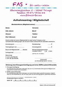 Rechnung Elektriker : aufnahmeantrag fitnessstudio muster durchschreibsatz ~ Themetempest.com Abrechnung