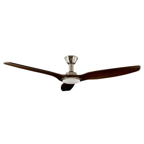 trident dc ceiling fan high airflow led light satin