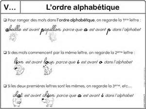 ranger des mots dans l ordre alphabetique lecon 38 l ordre alphabetique jlm infoscolaire