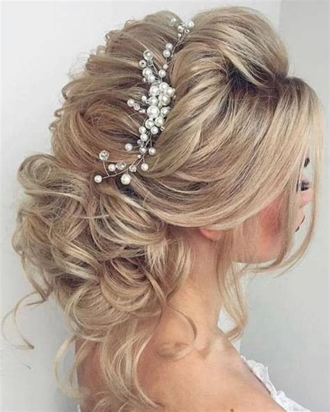 elegant bridal hairstyle weddinghair longhair