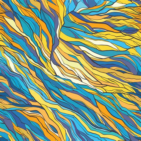 Premium Vector   Vector color abstract hand-drawn seamless ...