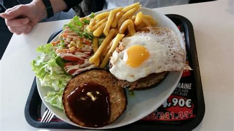cuisine express mouscron hamburger et frites photo de lunch express mouscron