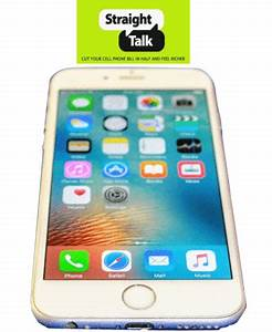 Buy Refurbished Straight Talk Apple iPhone 6 White 4G LTE ...
