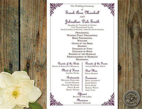 1000+ Ideas About Wedding Ceremony Outline On Pinterest