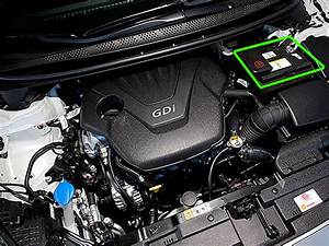 Kia Venga Car Battery Location
