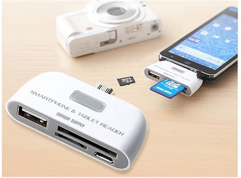 usb reader for android sanwa usb card reader dock for android phones and tablets