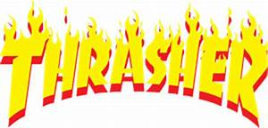 Thrasher Logo Vectors Free Download