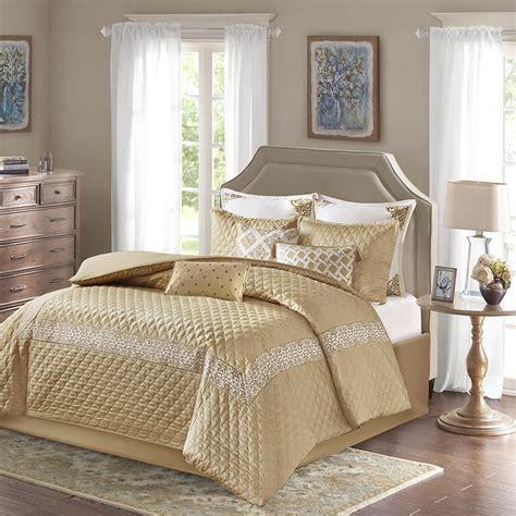 gold comforter set emerson gold by bombay bedding beddingsuperstore