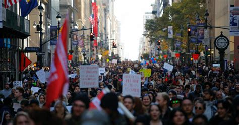 Anti-Trump protests carry on for fourth straight day after ...