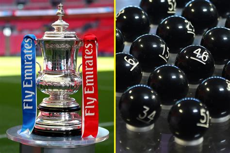 FA Cup third round draw: Ball numbers, start time and live ...
