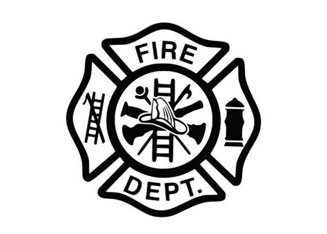 So if you have adobe illustrator, you should use that to open it. Library of fireman hook and ladder graphic black and white ...