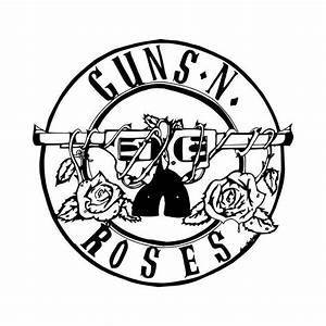 Guns N Roses Rock Band Logo Vinyl Decal Sticker