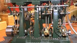 O  B  Bolton Triple Expansion Model Marine Steam Engine