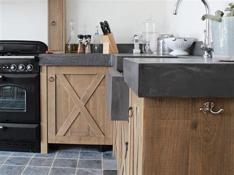 Eiken Keuken Landelijk Maken by Zelf Keuken Maken Beton Atumre