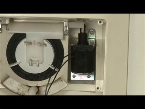 ge refrigerator dispenser solenoid replacement wrx youtube
