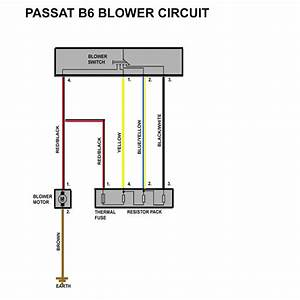 Passat B6 Blower Resistor